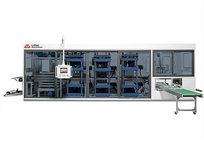 TTF-520AF Full Automatic Four-Station Plastic Thermoforming Machine