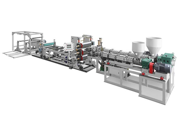 TJS-750Two-layer PP/PS Sheet Extruder