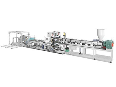 TJ-670 Single Layer PP/PS Sheet Extruder
